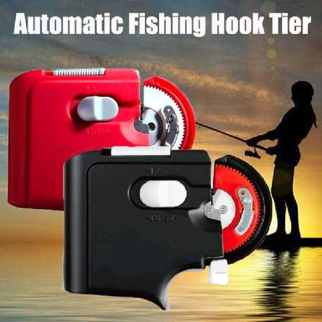 50% Off-Electric automatic fish hook tying tool (Top 200 customers get a gift)