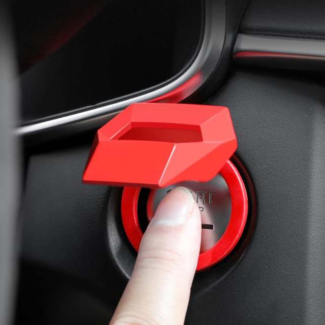 Car start button protective cover