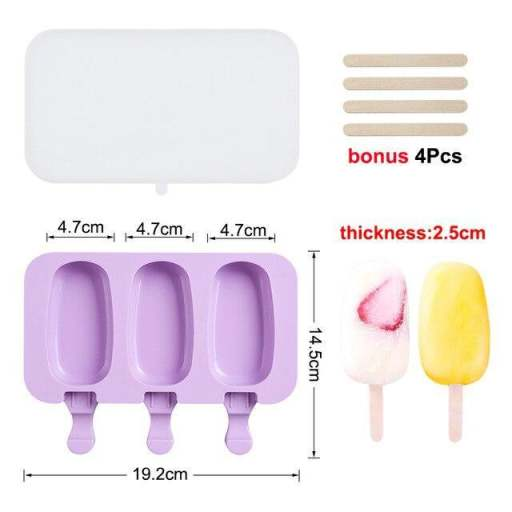 Silicone ice molds for children
