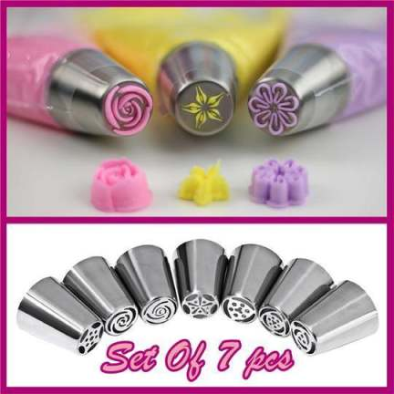 Decorative Multiple Pipe Tip Set